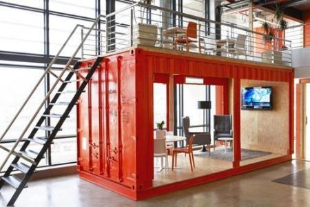 Peut-on aménager sur mesure des lieux de travail sur base de containers ?
