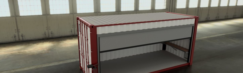 Chemical-Z® : votre container pour le stockage de produits dangereux