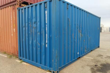 Container 20 pieds occasion très récente