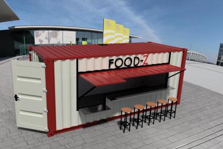 FoodZ® : votre container snack/bar prêt à poser