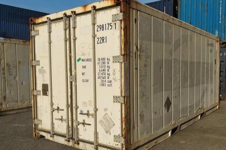 Container frigorifique 20 pieds occasion