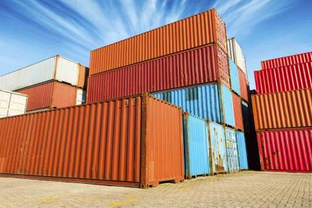 Gradation des containers maritimes