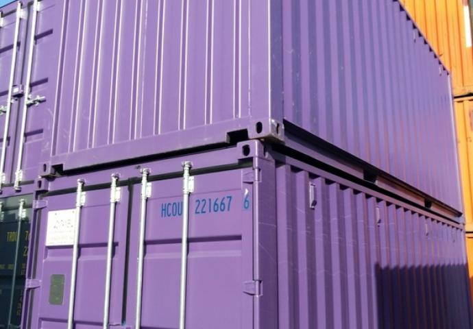 Container 20' 1er voyage