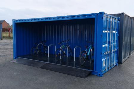 Nouveau chez ContainerZ : les abris à vélos BikerZ®!