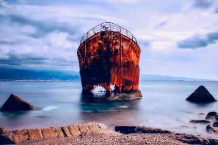 Le démantèlement des navires