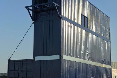 Des structures containers pour l'entrainement au travail en hauteur