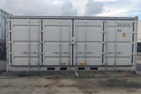 Container 20 pieds Open Side