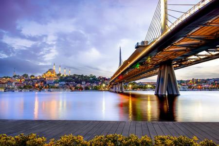 Départ du chantier du canal d'istanbul