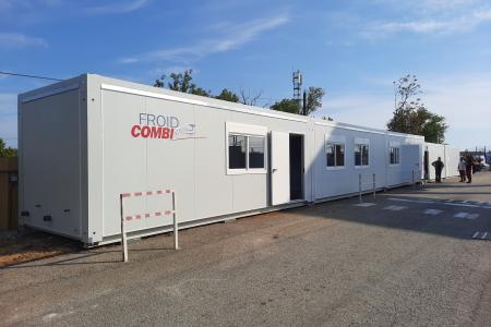 ContainerZ met à disposition des espaces modulaires pour Froid Combi