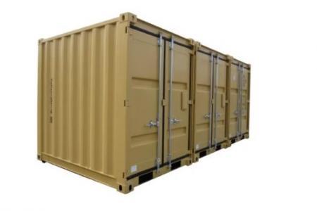 Containers spécifiques pour diverses applications terrestres