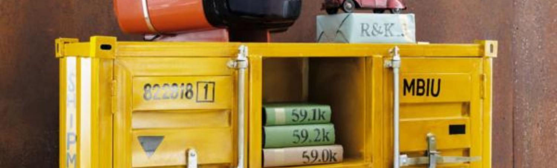 Quand le design mobilier s'inspire du container