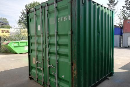 Container 10 pieds High Cube