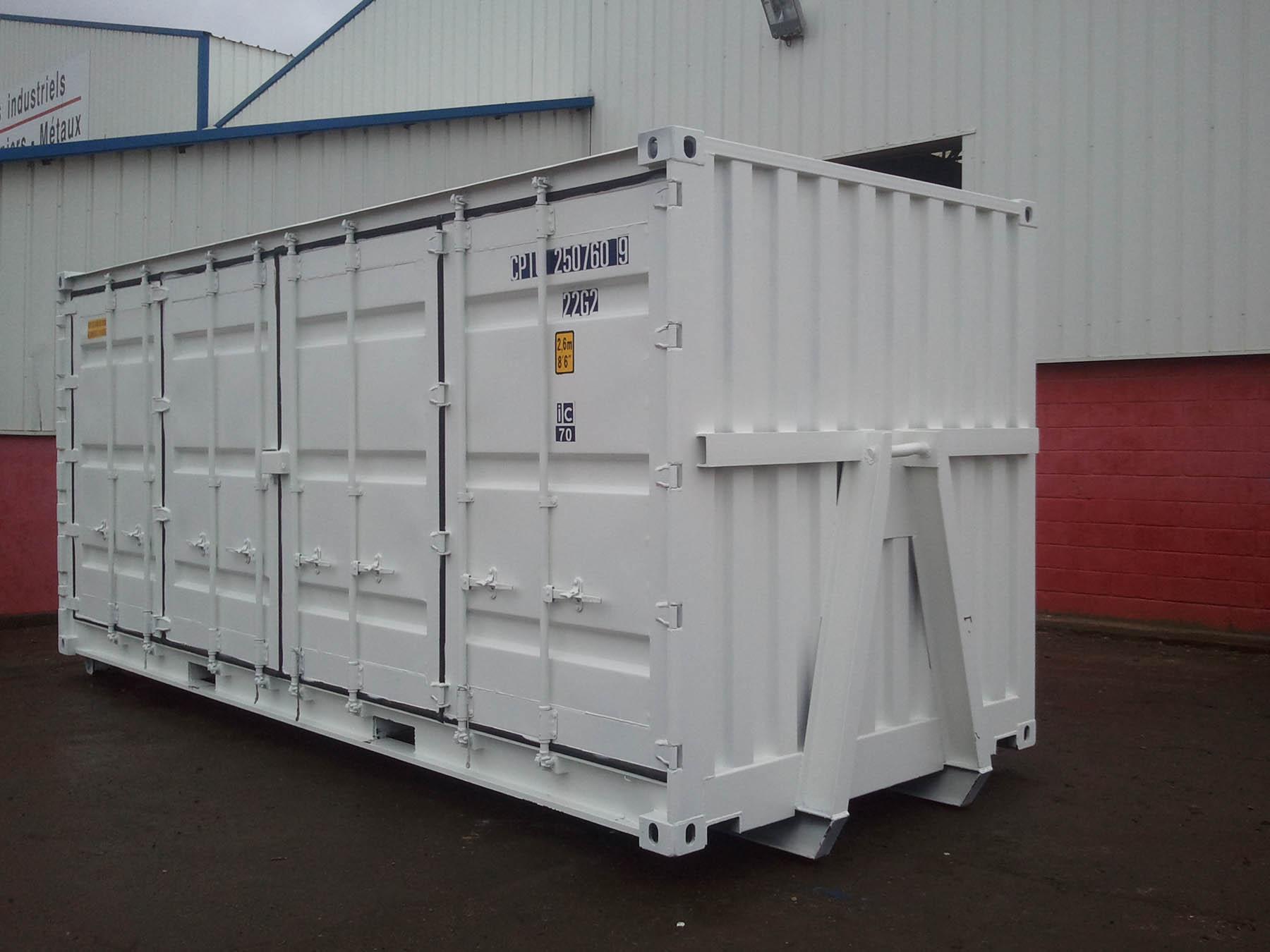 Containers de stockage transformation conteneurs le for Conteneur bordeaux