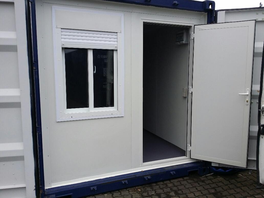 Bureau en container