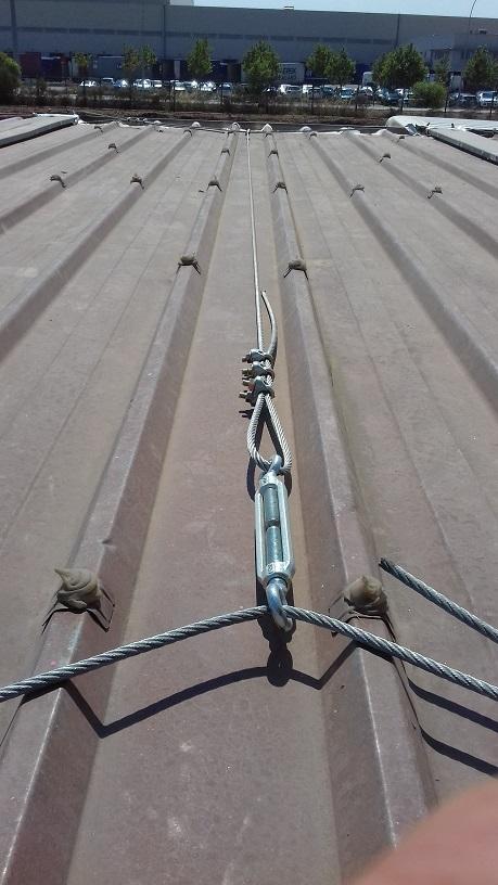 Le cable en tension