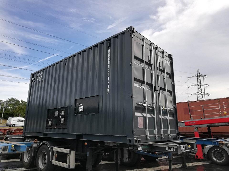 Exemple de container peint