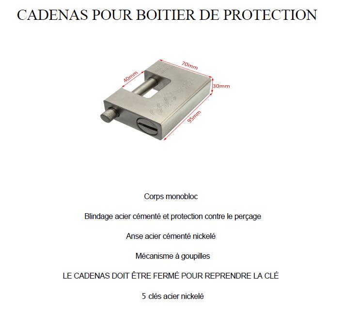Cadenas pour container